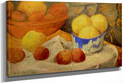 Apples And Blue Bowl by Paul Serusier