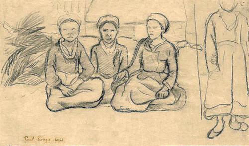 Breton Women by Paul Serusier