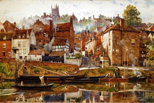 By Severnside Bridgnorth by Sir Edward John Poynter