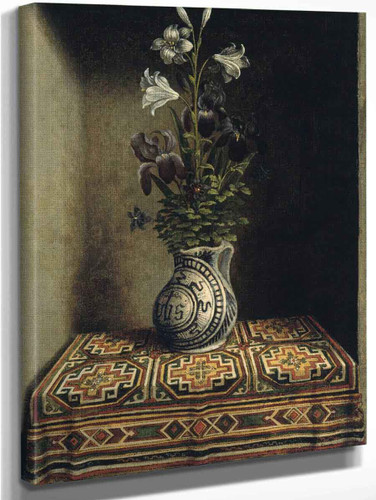Flowers In A Jug By Hans Memling