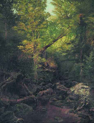 Forest Stream, Keene Valley By Alexander Helwig Wyant