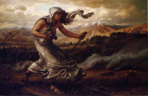 The Cumean Sibyl by Elihu Vedder