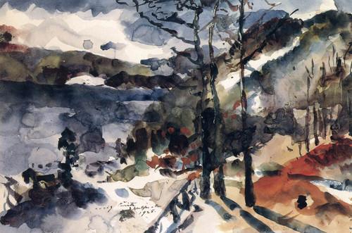 Walchensee 1 by Lovis Corinth