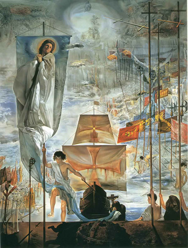 The Dream of Columbus by Salvador Dali