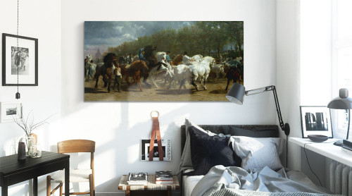 Equestrian Parade by Rosa Bonheur