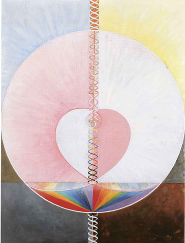 Group Ix Uw The Dove No 1 by Hilma Af Klint