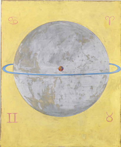 Group Ix Uw The Dove No 12 by Hilma Af Klint