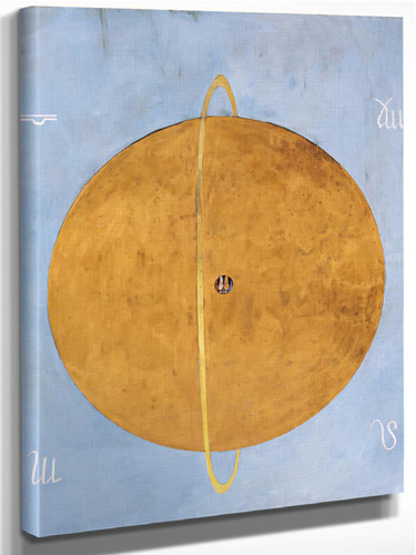 Group Ix Uw The Dove No 13 by Hilma Af Klint