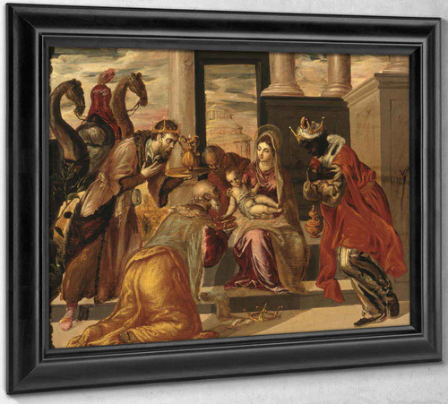 Adoration Of The Magi by El Greco
