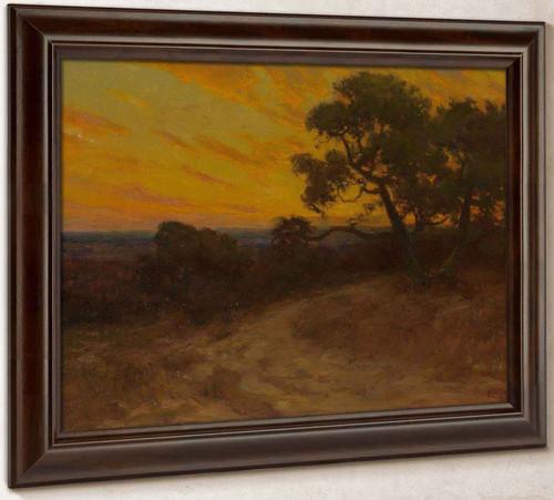 Golden Sunset Southwest Texas by Julian Onderdonk