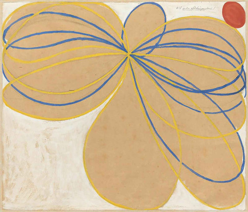 Group V The Seven Pointed Star by Hilma Af Klint