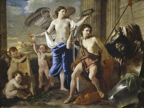 Le Triomphe De David by Nicholas Poussin