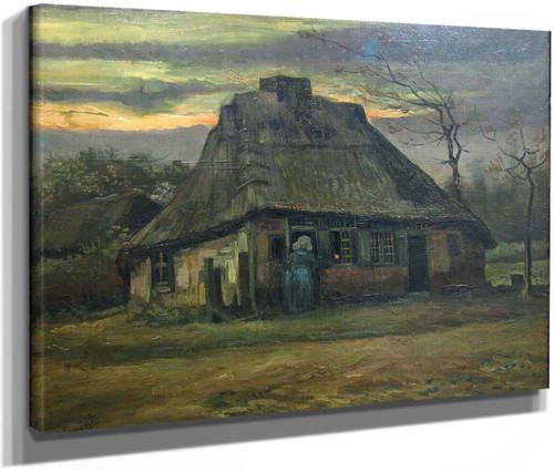 The Cottage by Vincent Van Gogh