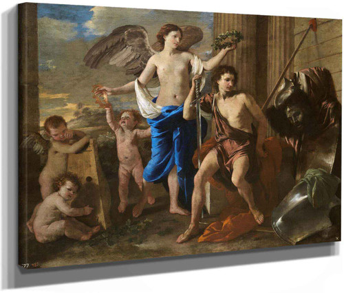 The Triumph Of David by Nicholas Poussin