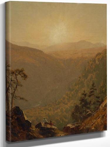 A Sketch In Kauterskill Clove by Sanford Robinson Gifford
