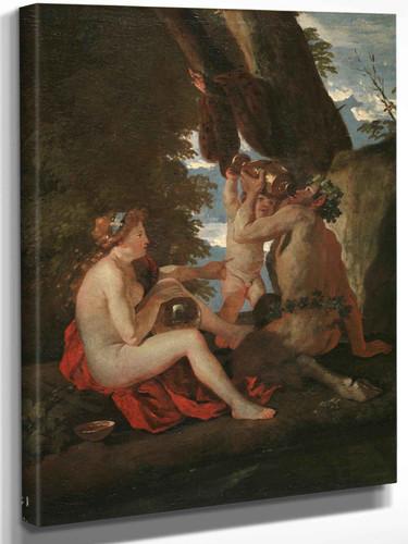 Bacchic Scene by Nicholas Poussin