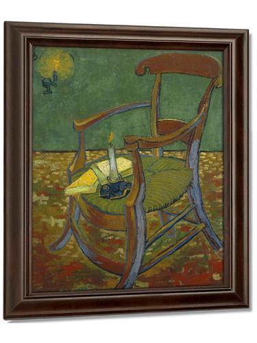 De Stoel Van Gauguin by Vincent Van Gogh