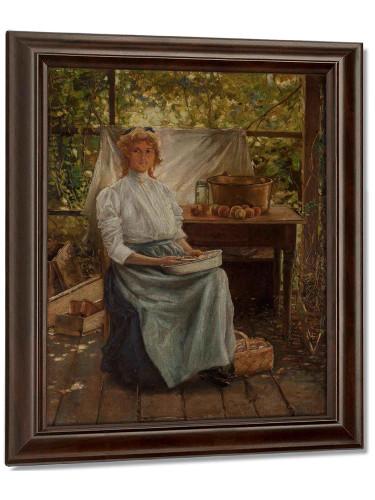 Eleanor Onderdonk 1900 by Julian Onderdonk