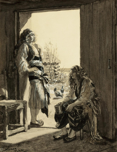 Farm Girls by Norman Mills Price