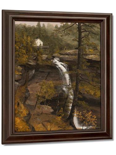 Kauterskill Falls by Sanford Robinson Gifford