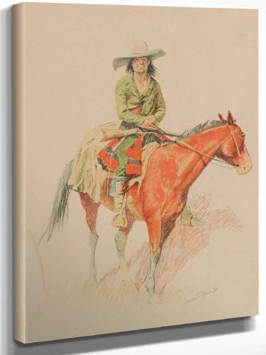 Old Ramon by Frederic Remington