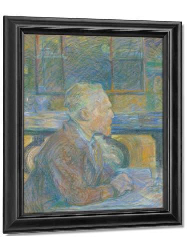 Portrait Of Vincent Van Gogh (1887) by Vincent Van Gogh