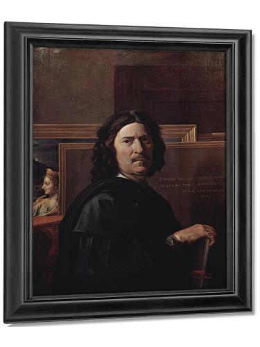 Self Portrait by Nicholas Poussin