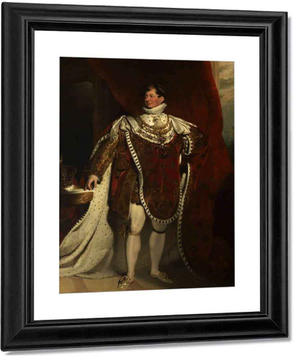 George Iv2 By Sir Thomas Lawrence