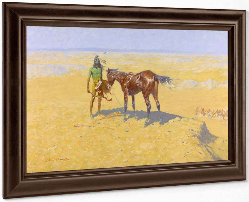Ridden Down By Frederic Remington by Frederic Remington