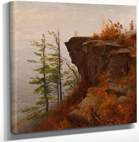 A Ledge In The Catskills by Sanford Robinson Gifford