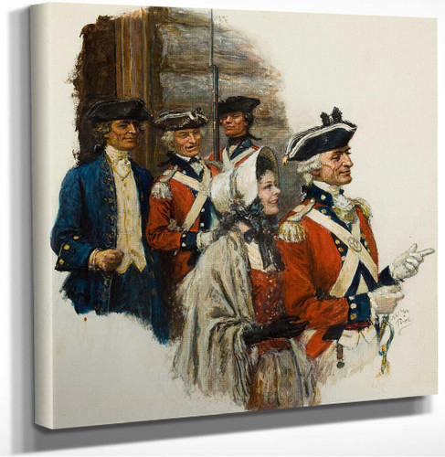 Revolutionary War Scene by Norman Mills Price