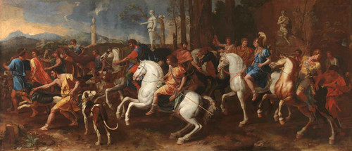 The Hunt Of Meleager by Nicholas Poussin