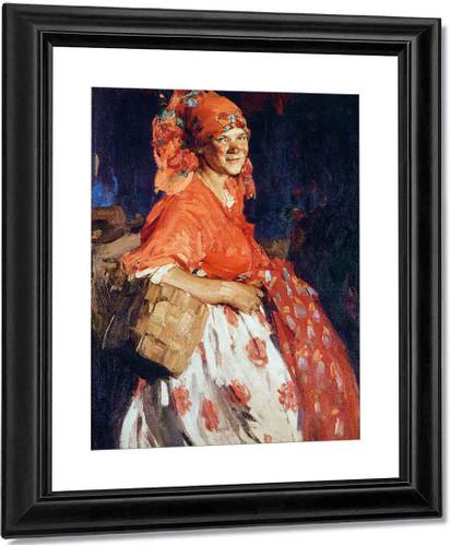 Girl1 By Abram Efimovich Arkhipov