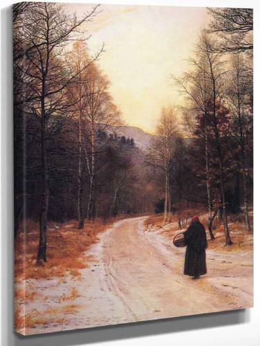 Glen Birnam By Sir John Everett Millais