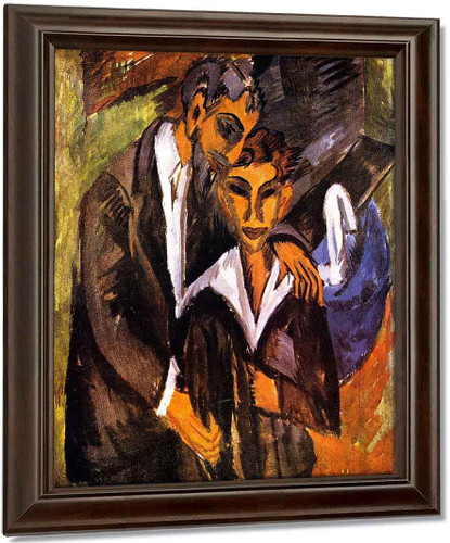 Graef And Friend By Ernst Ludwig Kirchner