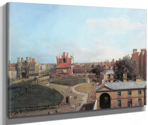 Whitehall And The Privy Garden Canaletto
