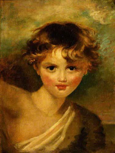 Head Of A Boy By Sir Thomas Lawrence