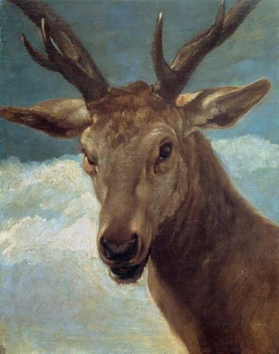 Head Of A Buck By Diego Velazquez