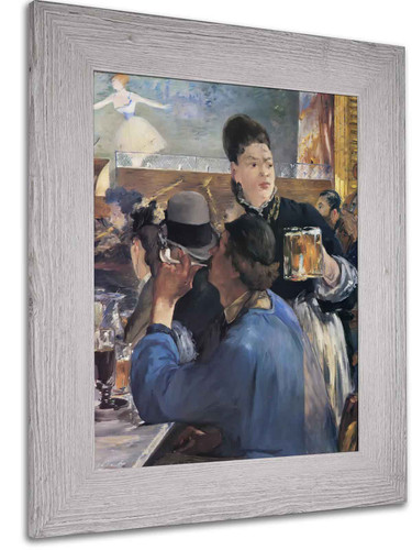 Girl Serving Beer (1) by Edouard Manet