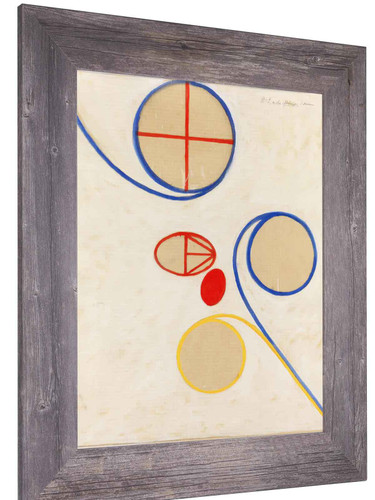 Group V The Seven Pointed Star No 2 by Hilma Af Klint
