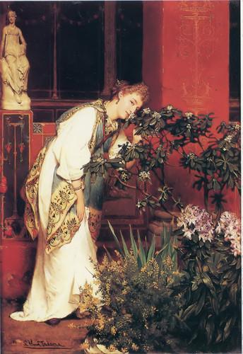 Tademas First Wife by Sir Lawrence Alma Tadema