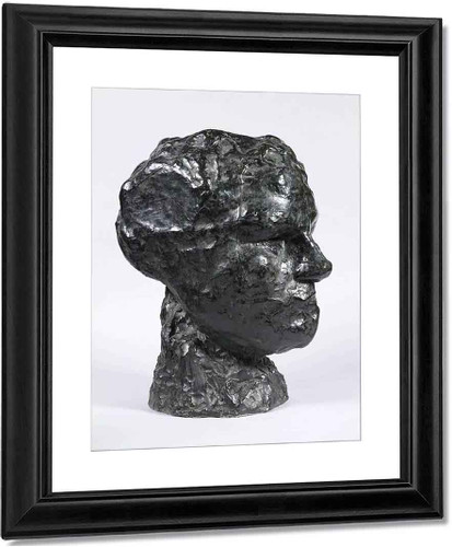 Head Of Iris By Auguste Rodin