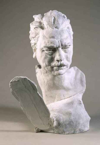 Henry Becque  By Auguste Rodin