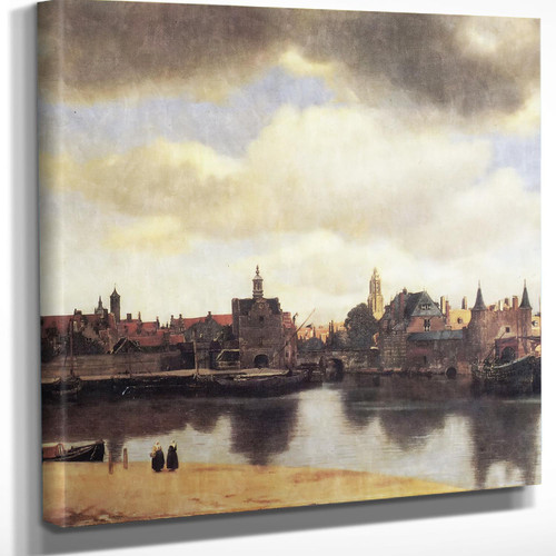 View Of Delft2 Johannes Vermeer