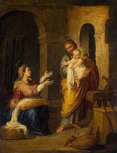 Holy Family By Bartolome Esteban Murillo