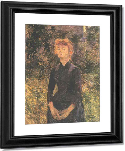 In Batignolles... By Henri De Toulouse Lautrec