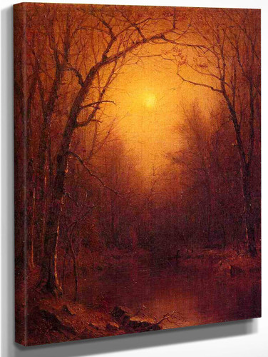 Indian Summer In The Bronx By Sanford Robinson Gifford