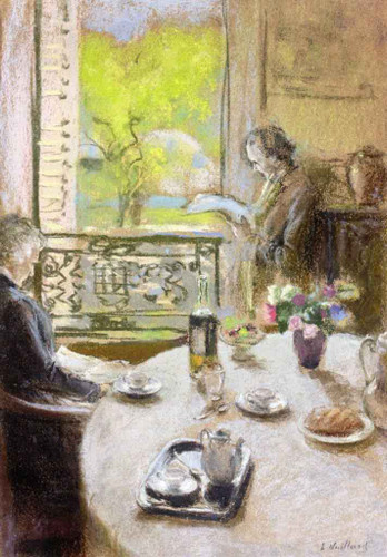 Interior Scene1 By Edouard Vuillard