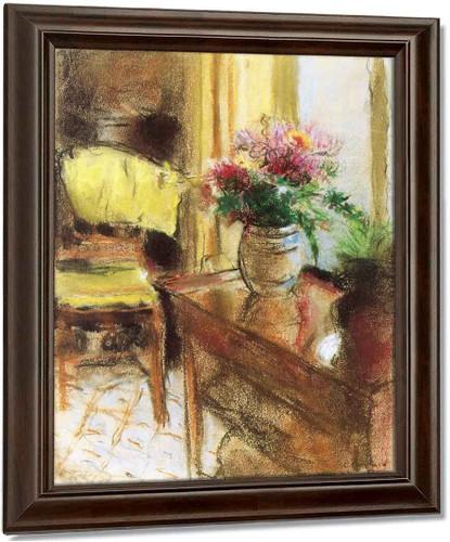 Interior Scene By Edouard Vuillard
