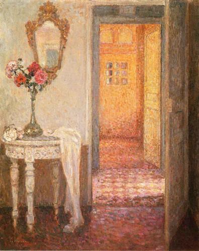 Interior By Henri Le Sidaner By Henri Le Sidaner
